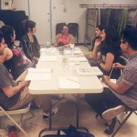 "First Table Read of ""Nobody's Child"" Artists At Play 2015 Reading Series"