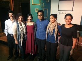 "Cast, Dramaturg and Playwright of ""Nobody's Child"". Lounge Theatre, Los Angeles, CA. April, 2015"