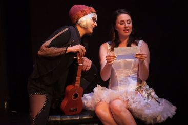 "Broads' Word Theatre Presents ""Fifty Shades Of Shrew"" at the Lounge Theatre. Hollywood Fringe Festival June, 2015"