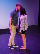 "West Coast Premiere of ""With My Eyes Shut"" at studio/stage. Hollywood Fringe Festival June, 2018"